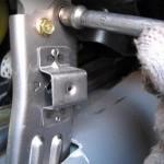 Как установить задние воздуховоды Шевроле Лачетти