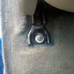 Снимаем передние сидения на Chevrolet TrailBlazer