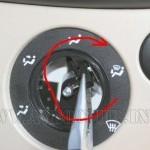 Отключаем принудительную активацию кондиционера во время обдува стекла