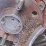 Замена задних тормозных дисков Шероле Лачетти