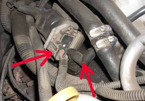 Замена клапана принудительной вентиляции картера Chevrolet TrailBlazer
