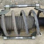 Замена переднего амортизатора (стойки) Шевроле Каптива