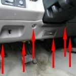 Меняем радиатор печки на Chevrolet Blazer