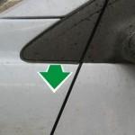 Как снять, установить переднее крыло Шевроле Круз