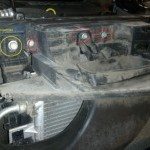 Как снять радиатор охлаждения двигателя Chevrolet Cruze