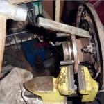 Меняем ступицу заднего колеса Шевроле Лачетти