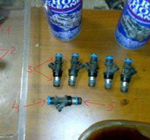 Промывка форсунок Шевроле Тахо 840