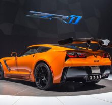 Первый экземпляр Corvette ZR1 продан с торгов