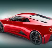 Активную аэродинамику получит новый Chevrolet Corvette.