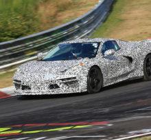 Появились фото Chevrolet Corvette C8