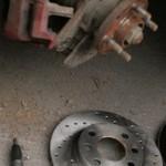 Замена тормозных дисков Шевроле Авео