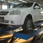 Неисправности и замена рулевой рейки Шевроле Лачетти