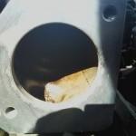 Чистим дроссельную заслонку на Chevrolet Lanos