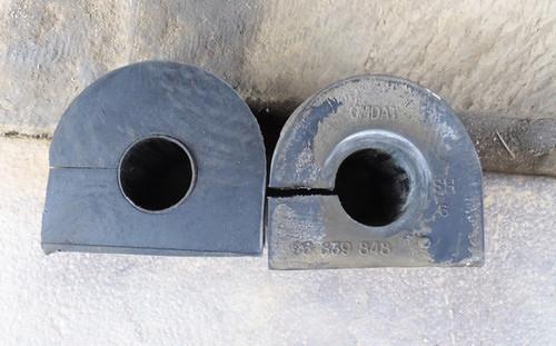 Способ упрощенной замены втулки переднего стабилизатора Шевроле Лачетти