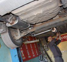 Снятие и ремонт глушителя Chevrolet Lanos (Шевроле Ланос) (видео)