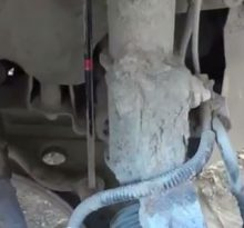 Видео пособие по замене стойки стабилизатора на Chevrolet Lacetti (видео)