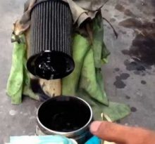 Меняем масло и масляный фильтр Шевроле Каптива с двигателем 2.4 С 140 (дизель)