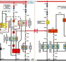 Шевроле Ланос: схема электрооборудования