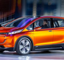 Электрокар Chevrolet Bolt получил «пять звезд»