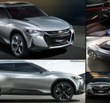 Chevrolet FNR-X — долгожданный кроссовер на базе Camaro?