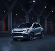 Новая версия Chevrolet Trax 2018